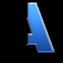 pixel, text, redesign icon