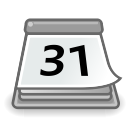 office, calendar icon