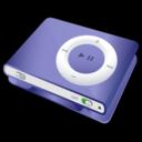 ipod,shuffle,purple icon
