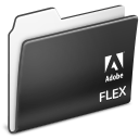 flex, folder, adobe icon
