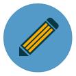 drawing, pencil, art, modify, text, edit, write icon