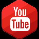 you tube, social network icon