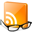 rss, glasses, smart, news, feed, reader icon