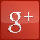 red, custom, googleplus, gloss icon