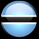 botswana, country, flag icon