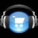 Headphones, Itunes, Music, Store icon