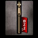 Black, Bz, Gold icon