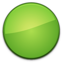 empty, blank, green, badge icon