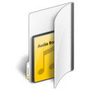 read, folder, audio, reading, book icon