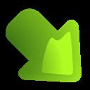 Arrow, Rightdown icon