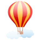 air balloon icon