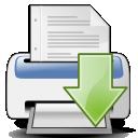 paper, print, printer, document, file icon