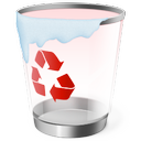 recycle, trash, bin icon