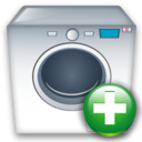 Add, Machine, Washing icon