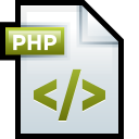 File Adobe Dreamweaver PHP 01 icon