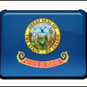 idaho,flag icon