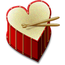 heart,beat,valentine icon