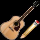guitar,write,instrument icon