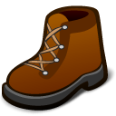 hike, boot icon