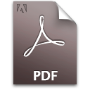 pdf, file, document, acp icon