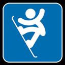 , Snowboard icon
