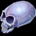crystal,skull icon