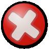 stop, cancel, no icon