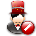 Cancel, Magician icon