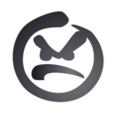 smiley,angry icon