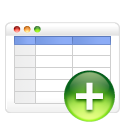 table add icon