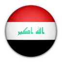 of, flag, iraq icon