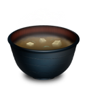 Miso, Soup icon