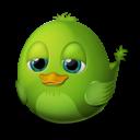 idle, bird icon