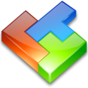computer game, tetris icon