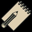 Book, Sketch, Vintage icon