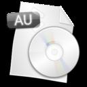 filetype,au icon