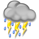 Thunderstorms icon