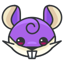 game, go, play, rattata, pokemon icon