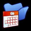 Blue, Folder, Scheduled, Tasks icon