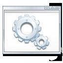 Development, Gear, Package icon