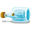 iphoto, bottle, in icon