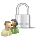 profile, user, human, account, padlock, people, control icon