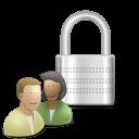 profile, user, human, account, padlock, people, control icon