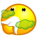 bad smelly icon