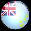 tuvalu, country, flag icon