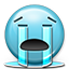 Emot Crying Tears River icon