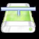 drive,green,network icon