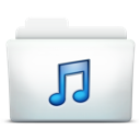 music, folder, itunes icon