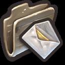 Envelopes With Yellow Checks Inside icon