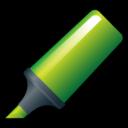 highlighter,green icon